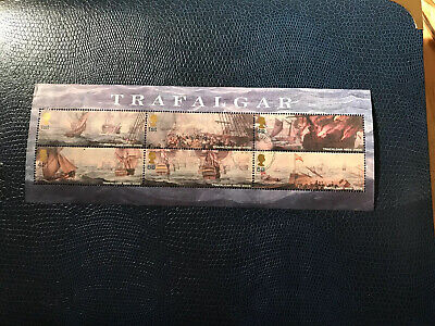 Stamps-  Gb Ms2580 Bicentenary Of Trafalgar Very Fine Used Mini Sheet