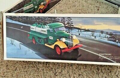 1985 First Hess  Truck   Toy  Bank  Vintage Original