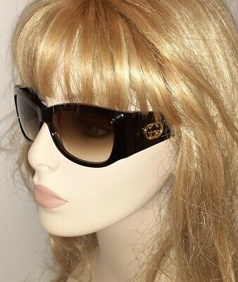 Gucci Sunglasses 2953 Classic brown Gold GG logo & Chanel small Bag