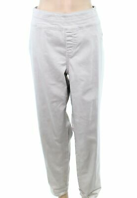 Style & Co. Womens Pants Stonewall Beige Size 24W Plus Casual Stretch $56 075
