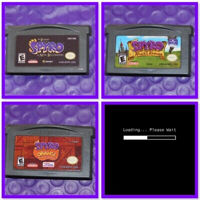 Spyro Gameboy Advance Video Game >> Pick Your GBA Game Title <<