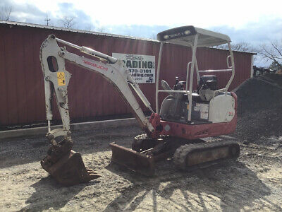 2016 Takeuchi TB216 Hydraulic Mini Excavator Clean Unit Only 900 Hours!!!