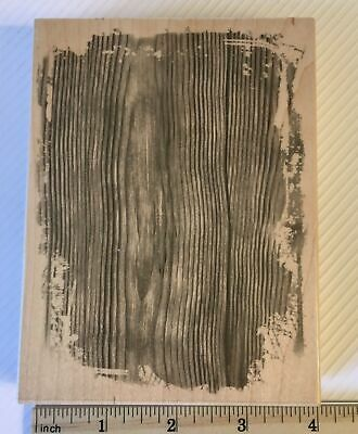Wood Grain Background w/ Distressed Edges Hero Arts Rubber Stamp