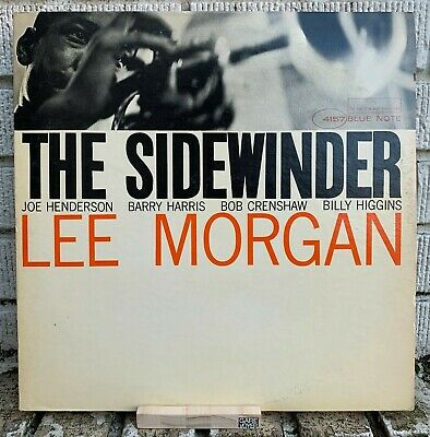 LEE MORGAN THE SIDEWINDER LP Mono Blue Note BLP 4157 Miles Davis John Coltrane