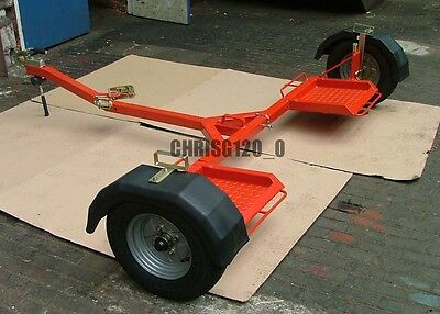 Towing Dolly Collapsible Fits In Car Boot, Plans To Build Your Own.car Recovery