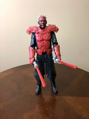 Darth Maul Toy Figure With Armor