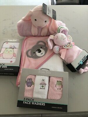 Newborn Baby Girl Bundle- Perfect Gift For Baby Shower All Brand New