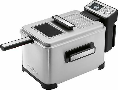 Luxe Fritteuse Inox Appareil à Frire Technologie Zone Froide 5 Litre LCD