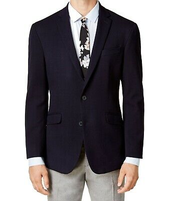 Kenneth Cole Reaction Mens Suit Separates Blue Size 42 Two Button $295 188