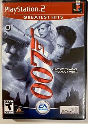 James Bond 007: Everything or Nothing (PlayStation 2, 2004) PS2 FREE SHIPPING!