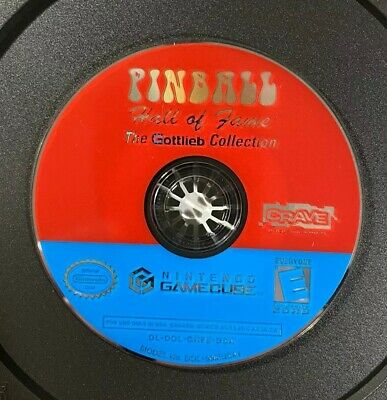 Pinball Hall of Fame: Gottlieb Collection (Nintendo GameCube) FREE SHIPPING!