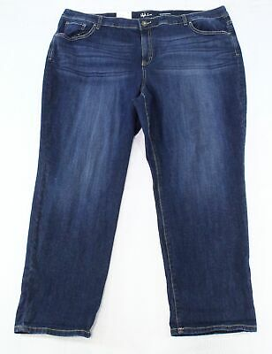 Style & Co. Womens Jeans Caneel Blue Size 20W Plus Boyfriend Stretch $59 021