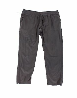 The North Face Womens Pants Gray Size XL Tie-Waist Pull-On Solid $85- 876