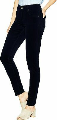 Kut from the Kloth Womens Pants Black Size 6 Corduroys Skinny Stretch $69 555