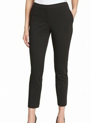 Tommy Hilfiger Womens Pants Black Size 10 Slim Fit Ankle Leg Stretch $79 288
