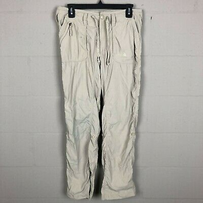 The North Face Women's Outdoor Pants Size 6 Khaki Stained RL13
