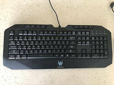 Genuine Acer Predator Gaming Wired USB Keyboard &; Mouse