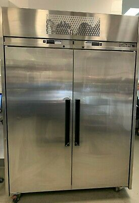 Williams Stainless Steel upright 2 Door Fridge Freezer