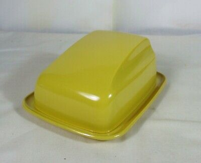 Vintage Vogue Moulded Products,  Butter, Cheese Dish With Lid, Made In Australia