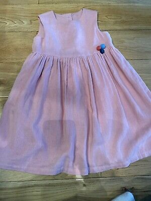 M & S Marks And Spencer Kids Summer Pink Dress 2-3yrs