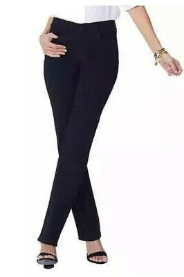 NYDJ Womens Jeans Black Size 10 / 30 Alina Legging, Super Stretch, Ship's Free