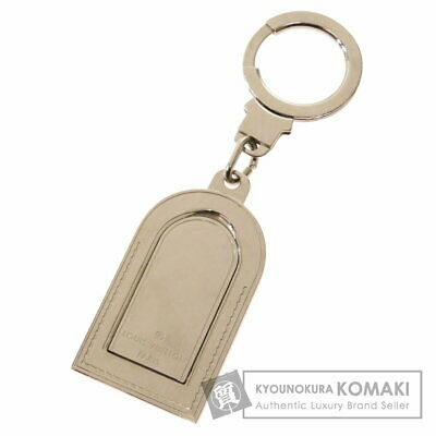 Louis Vuitton M9234P Porto Cle Address Key Ring Metallic Mens Second Hand