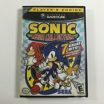 Sonic Mega Collection (Nintendo GameCube, 2002) Complete Video GAME