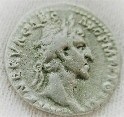 Unresearched Ancient Roman Silver Denarius Coin
