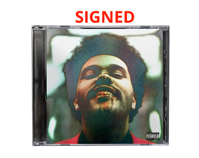 The Weeknd After Hours Hand Signed Exclusive Holographic Jewel Case Cd + Album