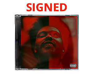 The Weeknd After Hours Hand Signed Exclusive Deluxe Jewel Case Cd + Album