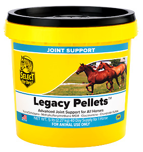 Select The Best Legacy Pellets, Joint Supplement For Horses 5 Lbs. (2.27 Kg)