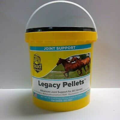 Select The Best Legacy Pellets, Joint Supplement For Horses 10 Lbs. (4.54 Kg)