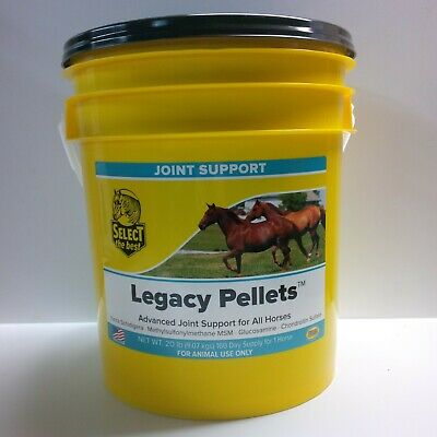 Select The Best Legacy Pellets, Joint Supplement For Horses 20 Lbs. (9.07 Kg)