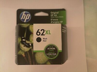 Genuine HP C2P05AN 62XL Black High Yield Ink Cartridge   62 XL  2020