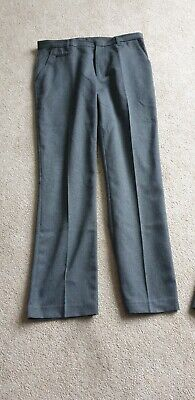 2 X Boys School Trousers Bnwot Age 14