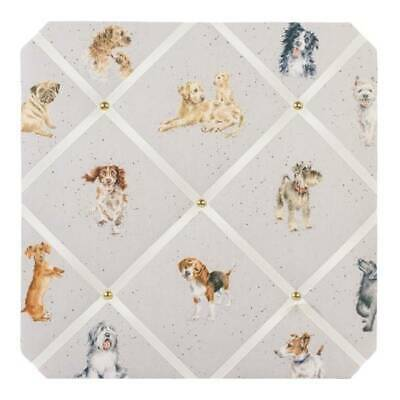 Memoboard, Pinnwand PA DOGS LIFE Hunde 40x40cm Wrendale Designs