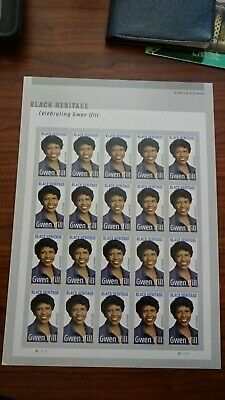 *NEW* 2020 Gwen Ifill - Black Heritage - Mint NH Plate Block of 6 - *In Stock*