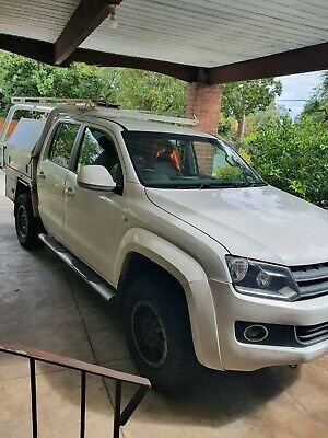 2012 Volkswagen Amarok Hardline 4x4 Turbo Disel with Tray and Toolboxes