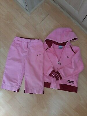 Girls Medium Nike Tracksuit Aged Approx 6 Years