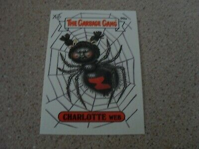 The GARBAGE gang - series 3 (AUS SERIES) 98A CHARLOTTE WEB card