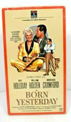Born Yesterday (VHS, 1986) New