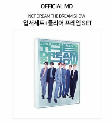 Nct Dream Tour The Dream Show Official Goods Postcard Set + Clear Frame Sealed