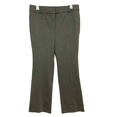 Lane Bryant Womens 16 Charcoal Gray The Allie Boot Cut Work Career Pants NWT