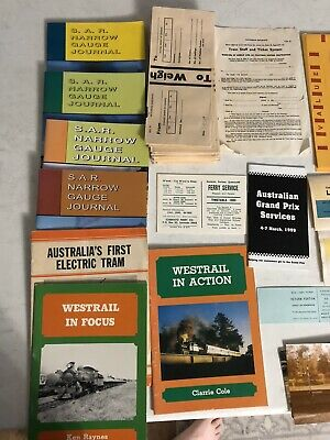 Large Railway Ephemera Collection Approximately 1800 Tickets Labels Passes