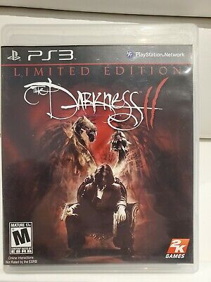 The Darkness II 2 - Limited Edition (Sony PlayStation 3, 2012) PS3 - Like New