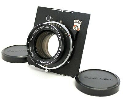 [Exc++++] Fujinon W 210mm F/5.6 4x5 Large Format Lens Copal Shutter from Japan