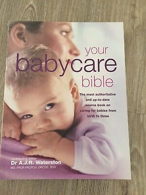 Baby Book - Your Babycare Bible Book By Dr A.J.R. Waterston