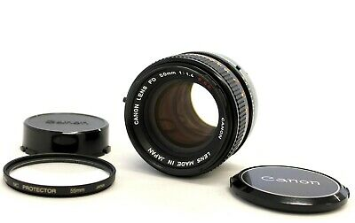 [Excellent+++] Canon FD 50mm F/1.4 S.S.C. MF Prime Lens from Japan