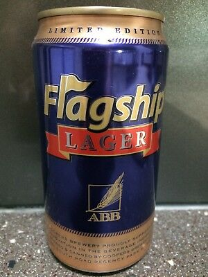 1 X 375ml Coopers / ABB  - Flagship Lager Beer Can - LIMITED EDITION