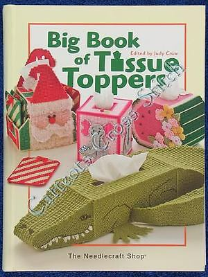 Plastic Canvas Patterns Big Book Of Tissue Toppers Tissue Box Covers Needlepoint